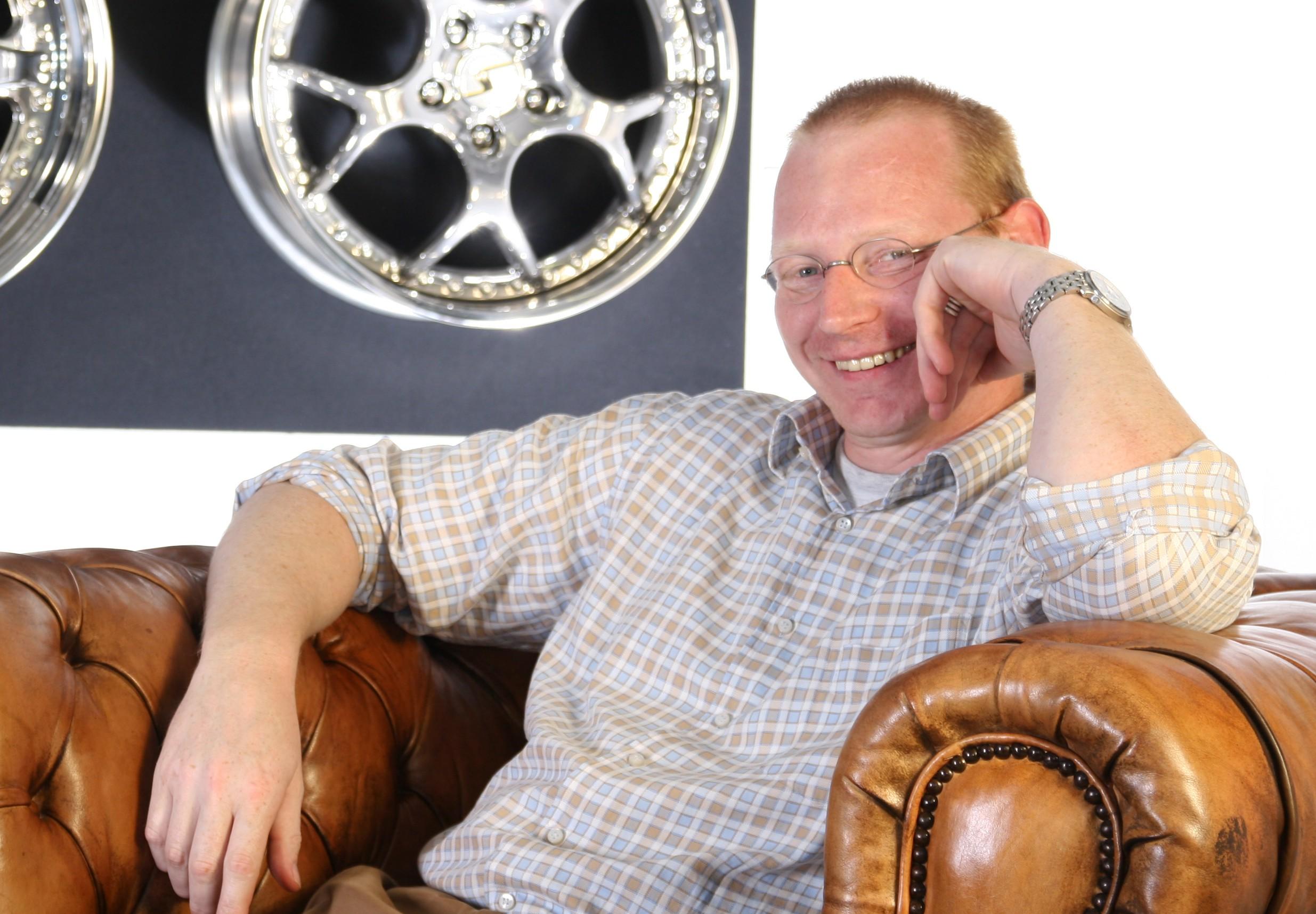 Volker Schmidt is the CEO of Schmidt Wheels