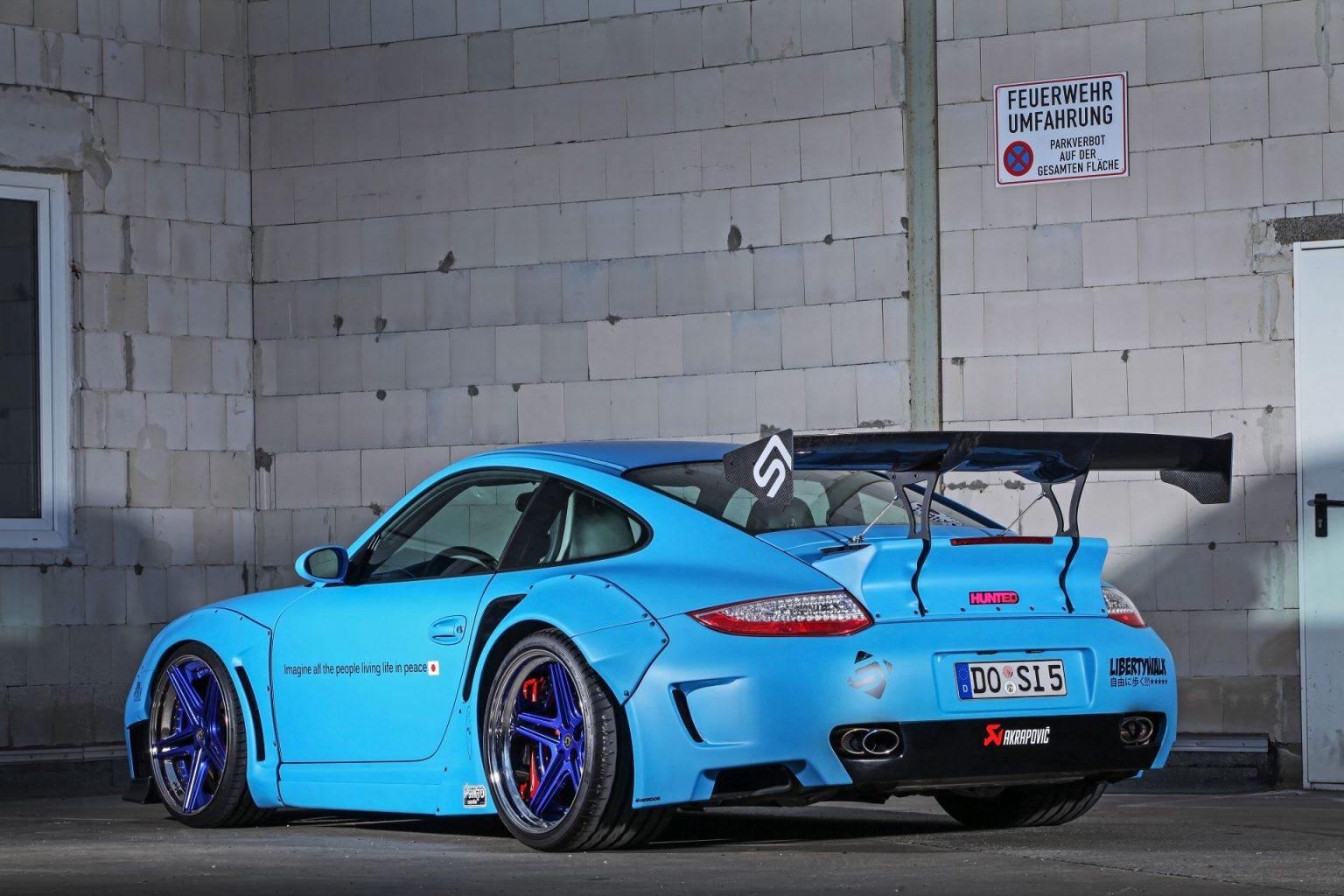 Porsche 997 Turbo By Sidney Industries Fsline Schmidt