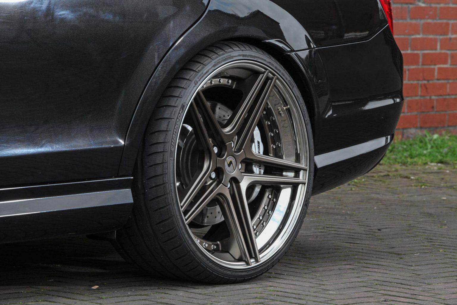 Mercedes C63 Amg Wheels By Raceland Fsline Schmidt Wheels