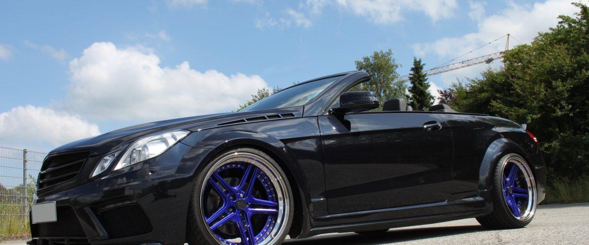 Mercedes E Cabrio A207 FS-Line wheels
